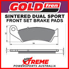 Goldfren Gas-Gas MC125 Marzocchi 2006-2009 Sintered Dual Sport Front Brake Pad G