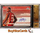 2003-04 Lebron James Upper Deck Finite Signatures RC Rookie SP Auto BGS 10 Pop4