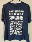 The Sandlot Movie Mens T Shirt Size LG Sultan of Swat Titan of Terror