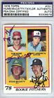 Taylor, Hume & McCatty Authentic Autographed Signed 1978 Topps RC PSA DNA