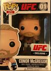 RARE ORIGINAL Conor Mcgregor Funko Pop UFC 194 Exclusive vinyl le (white shorts