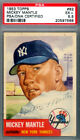 Mickey Mantle Autographed 1953 Topps Card Yankees Vintage 1953 Era PSA 5 PSA DNA