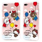 Cute Hello Kitty x Line TPU cellphone case for iPhone 7 Plus iPhone 8 Plus