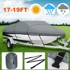 BOAT COVERS 17 18 19 FT Ship Waterproof Heavy Duty Boat Cover Carry Bag Flod