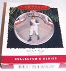 Hallmark Ornament Satchel Paige, Baseball Heroes, dated 1996, 3rd in series of 4