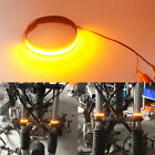1 Pair Mtorcycle Circle LED Strip Universal For 45mm-70mm Fork Turn Signal Light
