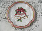 Fitz & Floyd Essentials Christmas Holiday Bells Canape Plate