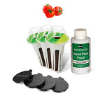Red Heirloom Cherry Tomato Seed 7 Pod Kit includes: 3 pre-seeded 4 Spacers