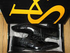 NEW STACY ADAMS BLACK LEATHER MERCER OXFORD MENS DRESS SHOES SIZE 95