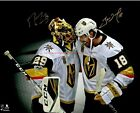 Marc Andre Fleury  James Neal Vegas Golden Knights Autographed 8x10 Photo RP