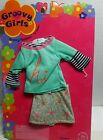 Groovy Girls Doll Clothes Hi Fashion 2 pcs outfit skirt top Christmas Holidays