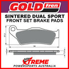 Goldfren TM Racing MX 450F 2004-2011 Sintered Dual Sport Front Brake Pads GF031S