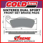 Goldfren Piaggio X9 500 Evolution 2003-2008 Sintered Dual Sport Front Brake Pads