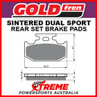 Goldfren Suzuki DR350S 1990-1994 Sintered Off Road Rear Brake Pad GF001S3