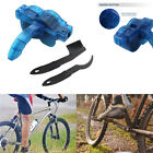 Universal Cycling Bike Bicycle Chain Scrubber Wheel Wash Cleaner Tool Brush Set