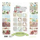 ULTIMATE CRAFTS 12 X 12 DOUBLE SIDED PAPER PAD BOHEMIAN BOUQUET
