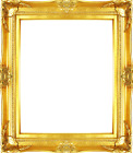 Frame 24x20 -Vintage Old Gold Antique Style Ornate Picture Frame 566-1