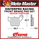 MM KTM 50 SX Pro Senior LC 2003-2008 Racing Sintered Medium Front Brake Pad 0947
