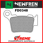 Newfren KTM 530 EXC-R 2008-2009 Sintered Rear Brake Pad FD0348SD