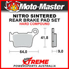 Moto-Master Husqvarna TE450 2004-2010 Nitro Sintered Hard Rear Brake Pad 094421
