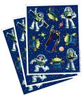 3 Sheets Disney BUZZ Lightyear ZURG Aliens Space Ranger Scrapbook Stickers