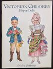 Victorian Children Paper Dolls Book by Evelyn Gathings 1996 Uncut Signed