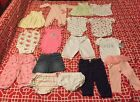 Lot of 16 Baby Clothes Girls Infant 6 Months Pants Onepiece Dress Blouse EUC