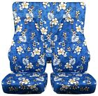 Cc Fit Jeep Wrangler Tj-yj-lj Frontback Hawaii Car Seat Covers Blue Red Yellow
