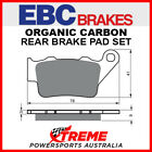 EBC Brakes TM Racing MX 250 2000 Organic Carbon Rear Brake Pads FA208TT