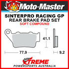 Moto-Master Husqvarna WRE125 1995 Racing GP Sintered Soft Rear Brake Pads 093212
