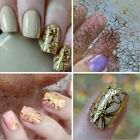 DIY Embossed Nail Art Stickers Blooming Flower Decals Manicure Accessories Tips