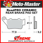 Moto-Master Husqvarna SMR450 2003-2010 RoadPRO Ceramic Rear Brake Pads 403404