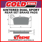 Goldfren Gas-Gas SM400 FSE 2003 Sintered Dual Sport Rear Brake Pads GF003-S3