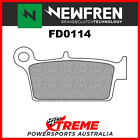 Newfren Gas-Gas Pampera 450 2007 Organic Rear Brake Pads FD0114-BD
