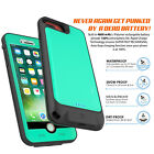 Waterproof Power Battery Charger Portable Bank Cover Case for iPhone X 7 8 Plus