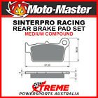 Moto-Master Aprilia RXV550 2006-2009 Racing Sintered Medium Rear Brake Pad 09451