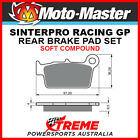 Moto-Master TM Racing MX 250 2005-2016 Racing GP Sintered Soft Rear Brake Pad 09