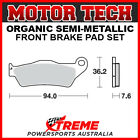Motor Tech Husqvarna WRE125 1995 Semi-Metallic Front Brake Pads