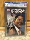 AMAZING SPIDER MAN 583 CGC 98 WHITE PAGES HARDER TO FIND FIFTH 5TH PRINT OBAMA