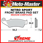 Moto-Master Gas-Gas EC450 FSE 2004-2005 Nitro Sport Sintered Medium Front Brake