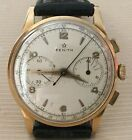 Zenith Star Chronograph, gold 18kt, year 1950, our vintage