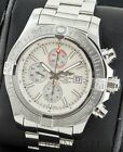 New Style Breitling Super Avenger A13371 48mm Box and Papers Automatic