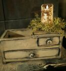 EARLY PRIMITIVE ANTIQUE  Mini DRY SINK
