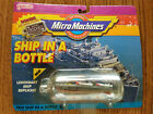 1990 Micro Machines PT 109 5 Ship in a Bottle Collection NIP Galoob