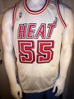 Sand-Knit Miami Heat 55 Billy Thompson 1988-91 Home Jersey Authentic Twill sz 46