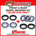 All Balls Suzuki DR-Z400E 2000-2007 Talon Hub Only, Front/Rear Wheel Bearings