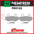 Newfren Cagiva 900 Elefant 1990-2000 Sintered Touring Rear Brake Pad FD0122-TS