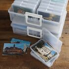 Plastic Picture Keeper Color Photo Craft Storage Organizer Box Set Memory Safe