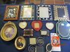 MIXED LOT OF 15 PHOTO PICTURE FRAMES UNIQUE  DIFFERENT