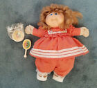 Vintage Cabbage Patch Kids Cornsilk Hair Doll Brush Outfit Diaper Shoes Xavier